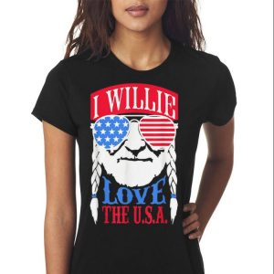 I Willie Love The USA shirt 2