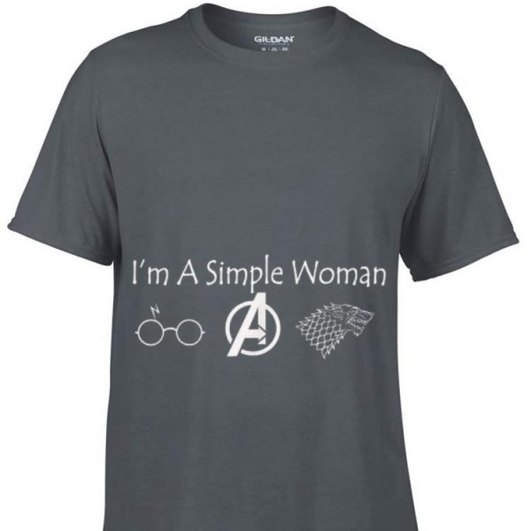 I'm A Simple Woman Wolf Mother Day shirt