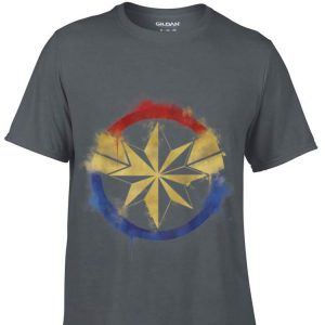 Marvel Avengers Endgame Captain Marvel Spray Paint Logo shirt