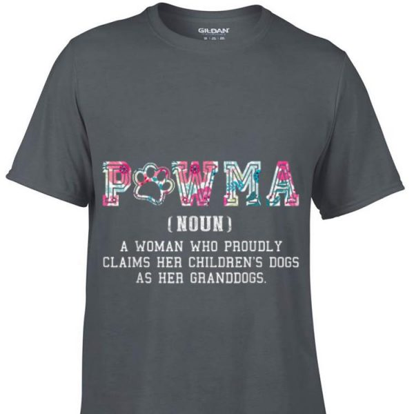 Pawma Definition Mama Grandma Aunt Dog Mother day shirt