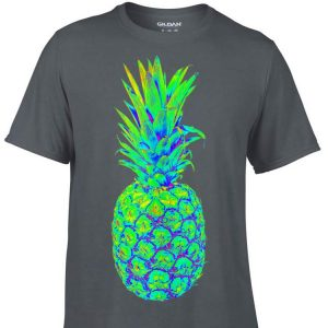 Pineapple Trippy EDM Colorful Rave shirt