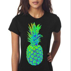 Pineapple Trippy EDM Colorful Rave shirt 2