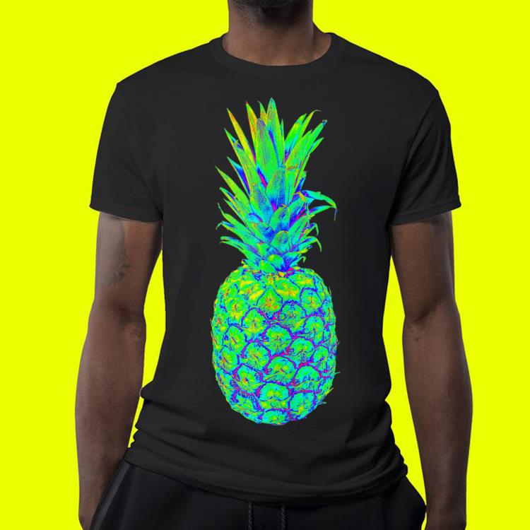 Pineapple Trippy EDM Colorful Rave shirt 4 - Pineapple Trippy EDM Colorful Rave shirt