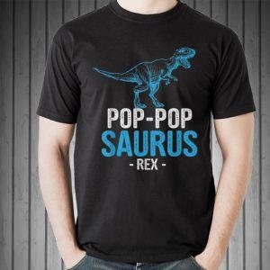 Pop-pop Saurus Rex Father day shirt