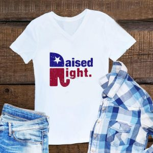 Raised Right Elephant shirt