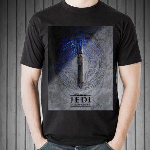 Star Wars Jedi Fallen Order Teaser Image Lightsaber shirt