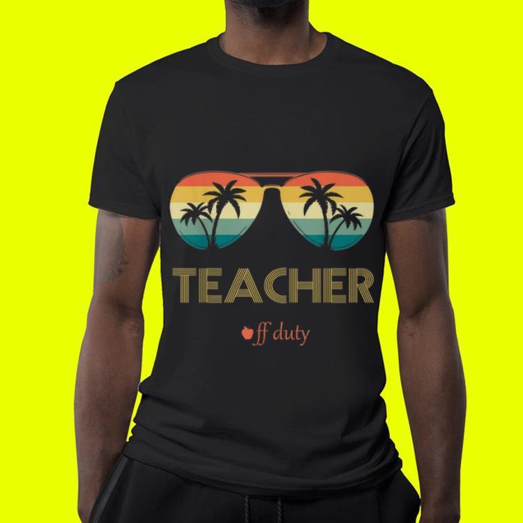 Summer Teacher Off Duty Glass Vintage 4 - Summer Teacher Off Duty Glass Vintage