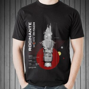 The Expanse Rocinante Ship shirt