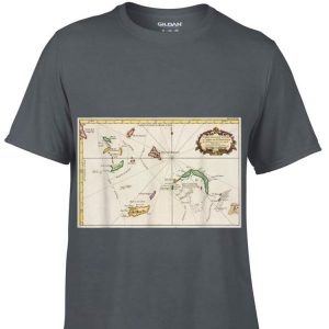 Turks and Caicos Islands Map shirt