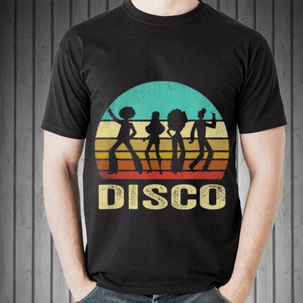 Vintage Disco Sunset shirt