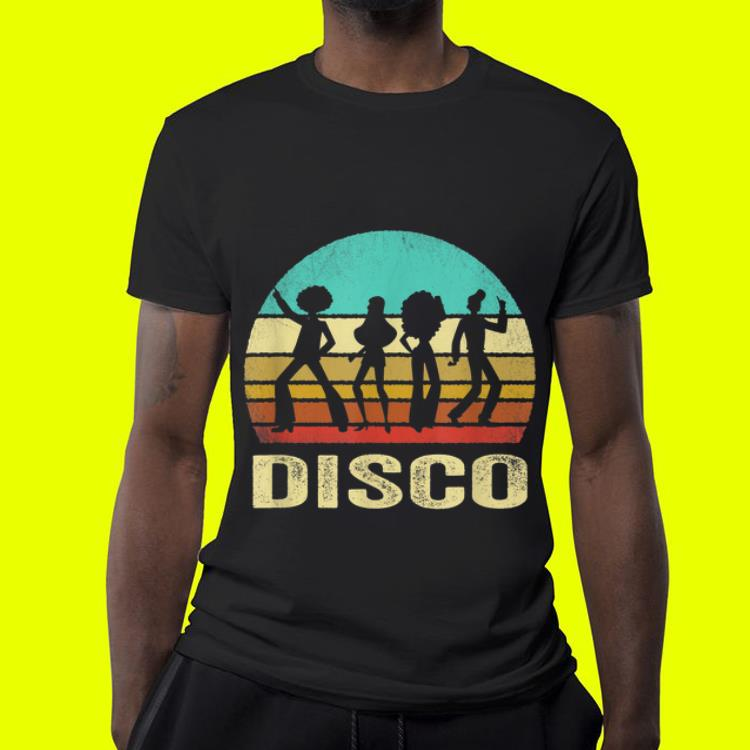 Vintage Disco Sunset shirt 4 - Vintage Disco Sunset shirt