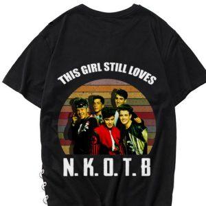 Vintage New Kids On The Blocks This Girl Still Loves shirt