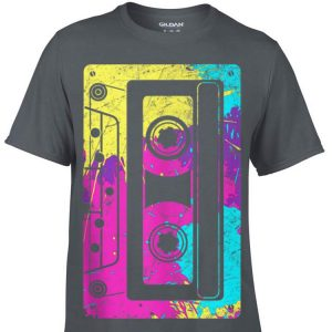 Vintage Retro Music Cassette Tapes Mixtape 80s and 90s shirt