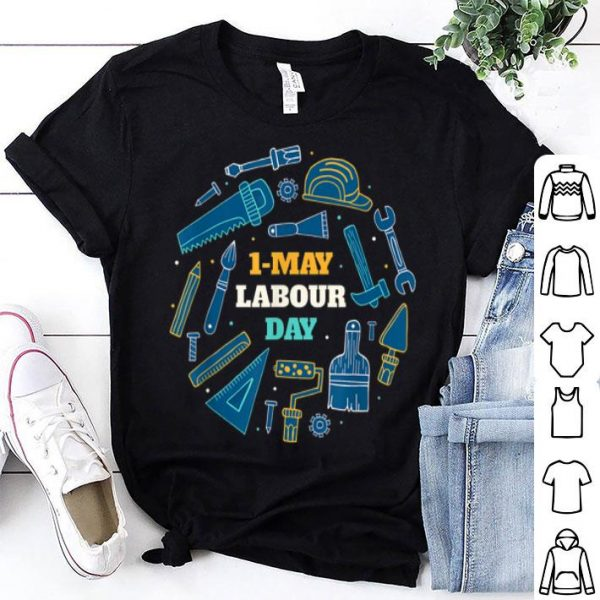 1 May labour day celebration shirt