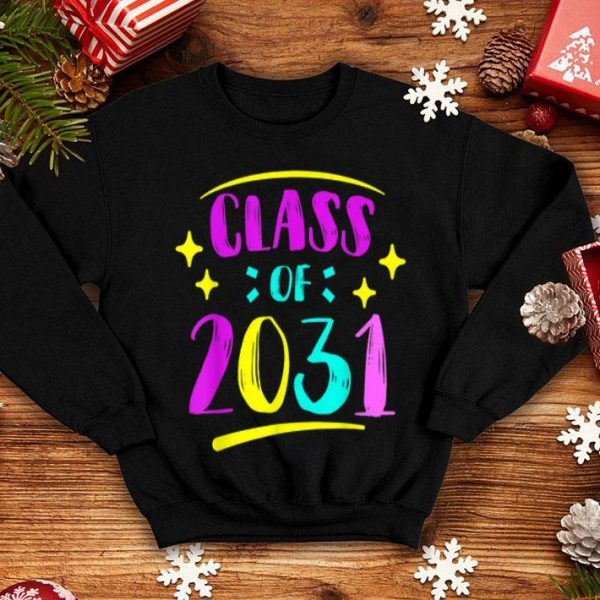 1st Grade 2019 Class Of 2031 Grow With Me shirt