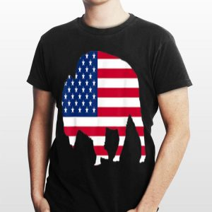 4th Of July Buffalo American Flag Day Of Independence shirt