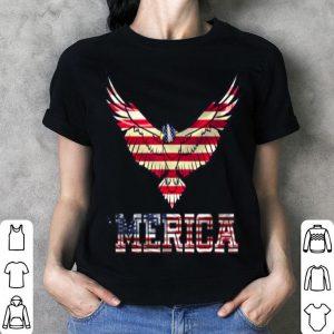 4th Of July Merica Usa Flag Merica Usa Eagle Cool Vintage shirt