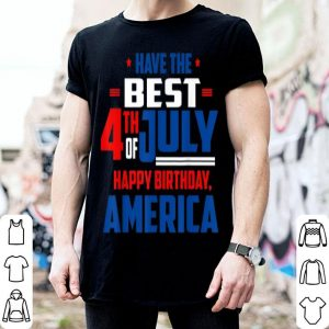4th Of July Patriotic America Flag Happy Birthday shirt