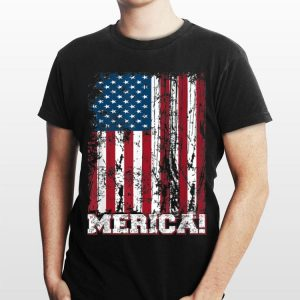 American Flag 4th of July Independence Day Merica shirt
