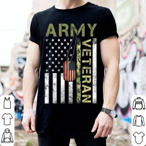 American Flag Camo Proud Us Army Veteran shirt