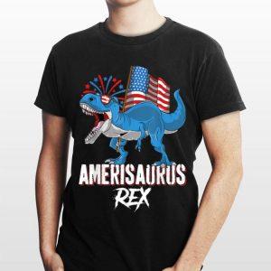 American Flag Dinosaur 4th Of July Amerisaurus Rex shirt