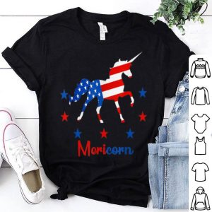 Americorn Unicorn 4th Of July Merica shirt