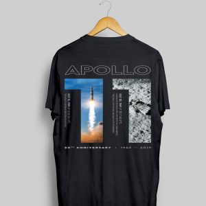 Apollo 11 50th Anniversary Moon Landing 1969 2019 shirt