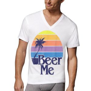 Beer Me Vintage Retro California Beach