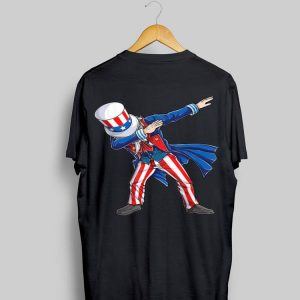 Dabbing Uncle Sam 4th of July Independence Day American Suit shirt