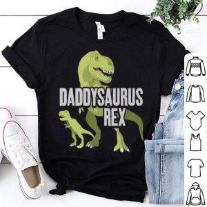Daddysaurus Rex Fathers Day shirt