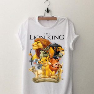 Disney Lion King Pride Land Characters shirt