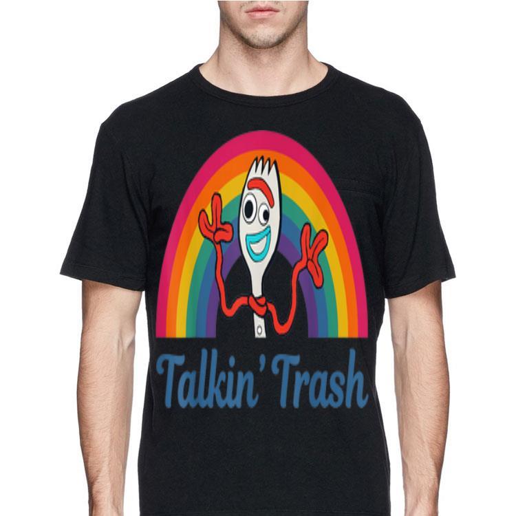 Disney Boys Toy Story 4 Forky Talkin Trash T-Shirt