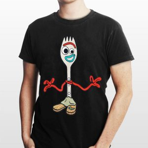 Disney Pixar Toy Story 4 Forky's Here shirt