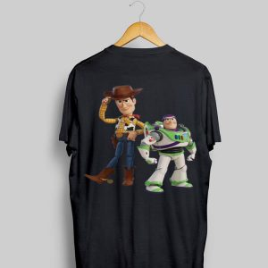 Disney Pixar Toy Story 4 Woody and Buzz Lightyear shirt