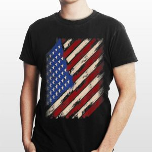 Distressed American Flag 4th Of July Independence Day shirt