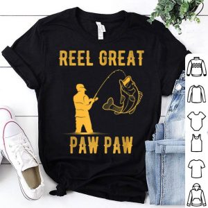 Fathers Day Reel Great Paw Paw Fishing Lover shirt