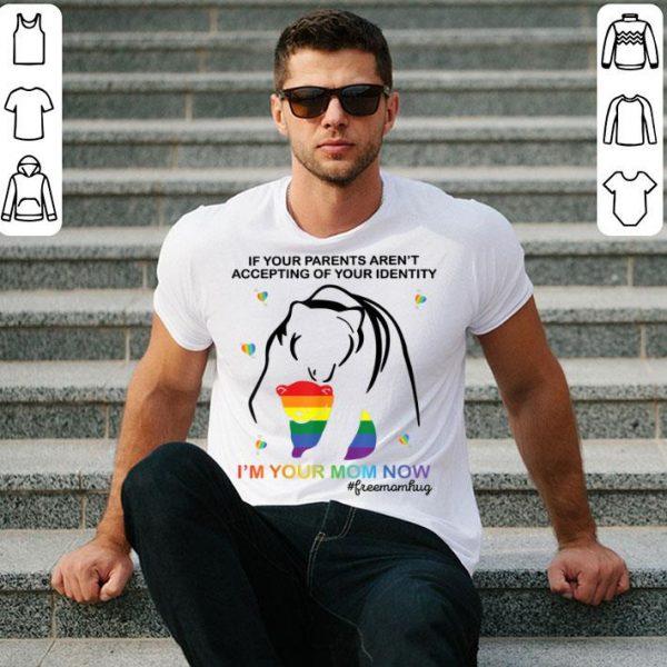 Free Bear Mom Hugs LGBT Pride shirt