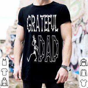 Grateful Dad Fathers Day Skeleton shirt