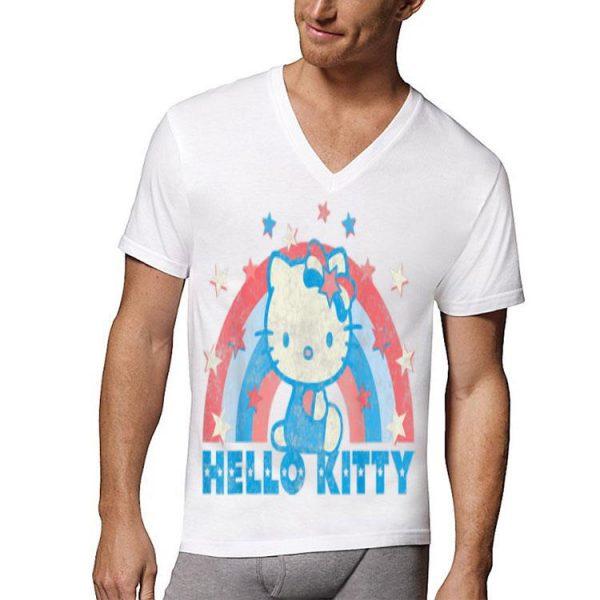 Hello Kitty America USA Rainbow shirt