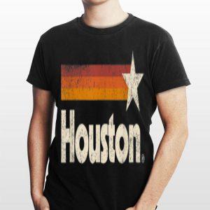 Houston Texas Vintage Stripes shirt