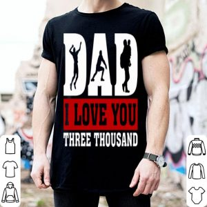 I Love You Dad 3000 Volleyball Father Day shirt