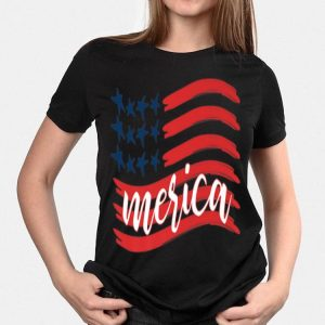 Independence Day American Flag Patriotic 4th Of July shirt