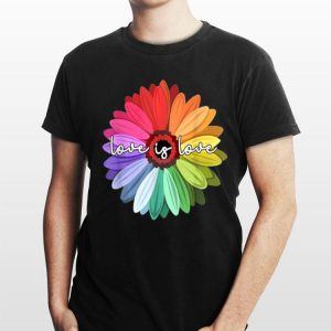Love Is Love LGBT Rainbow Gay Lesbian shirt