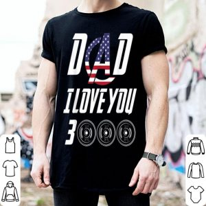 Love You 3000 Barbell American Flag shirt