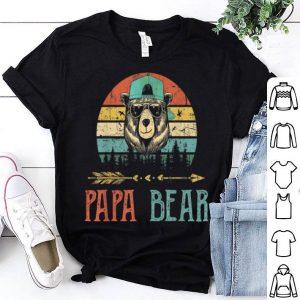 Papa bear Wildling Father Day Vintage shirt
