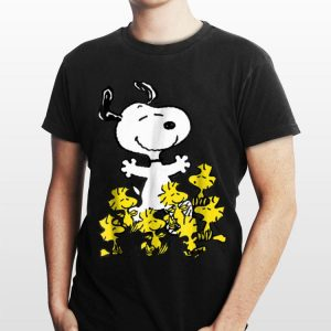 Peanuts Snoopy chick party shirt