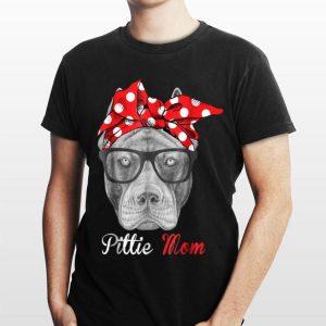 Pittie Mom Pitbull Dog shirt