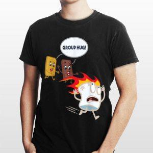 S'mores Marshmallow Camping Roasting Bonfire shirt