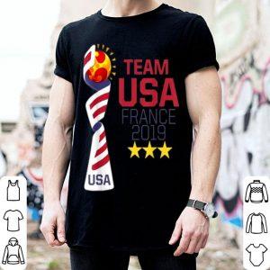 Team USA France 2019 World Cup shirt