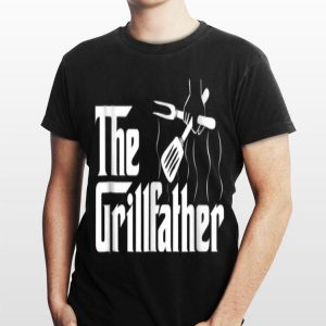The Grillfather BBQ Grill & Smoker shirt